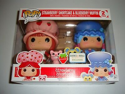 Funko Pop Strawberry Shortcake & Blueberry Muffin Barnes and Noble Exclusive NEW