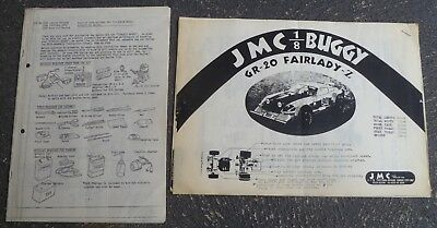 Kyosho Circuit 20 and JMC 1:8 Buggy Manuals