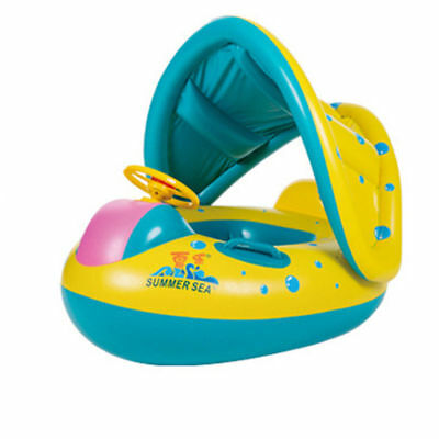 Lovely Baby Kids Swimming Ring Childs Inflatable Swimming Circle Rings LU