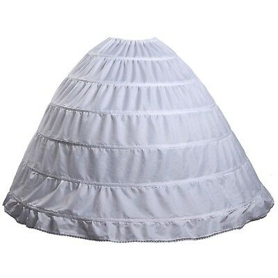 Fanhao Hoop Skirt Wedding dress Bridal Petticoat/Underskirt/Crinoline/Slip,6 Hoo