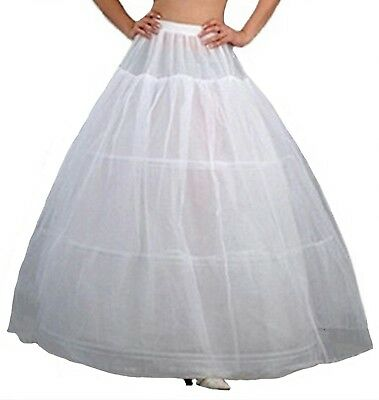 V.C.Formark Crinoline Underskirt Petticoat Half slip for Wedding Bridal Dress Wh