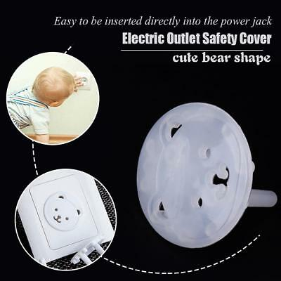 20PCS Safety Child Baby Proof Electric Outlet Socket Plastic Cover New EU Plug
