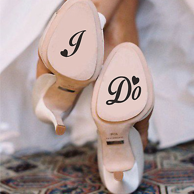 """""""I DO"""" - Shoe decals 