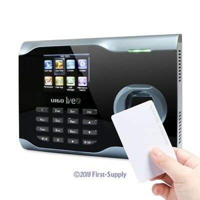 Biometric Fingerprint Attendance Time Clock +Id Card Reader+ Wifi +Tcp/ip +Usb