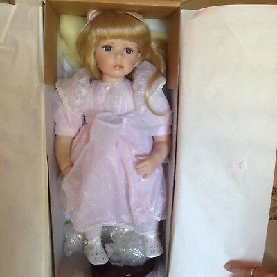HILLVIEW LANE - Limited Edition Doll Collection - Melinda in box as new