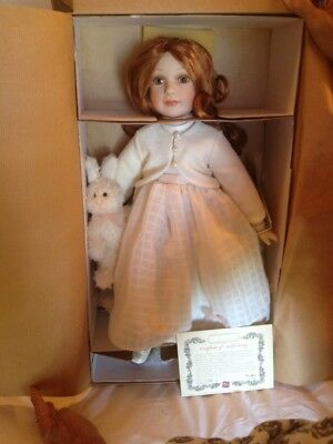 Russ Victorian Grace Limited edition Porcelain Doll- Emma, new in box