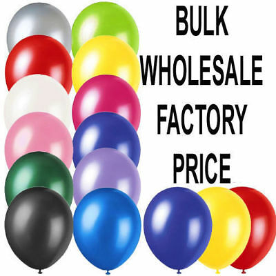 20 Latex PLAIN BALOONS BALLONS helium BALLOONS Quality Party Birthday Wedding*