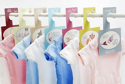 Baby Closet Dividers - Tribal For Baby Clothes Hangers Organizer, Pack of 7 NEW