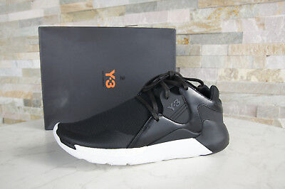 092476521 Y3 Y-3 Adidas Yamamoto Size 42 UK 8 Sneakers Shoes QR Run Black NEW