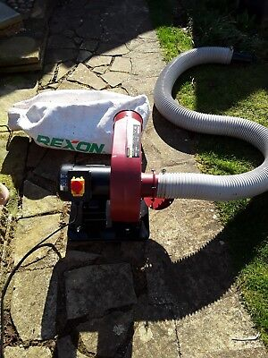 Rexon Portable Dust Extractor ex condition, collection only, Kettering