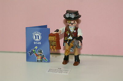 Playmobil 9146 Figures Boys Serie 11 Steampunk Forscher Professor
