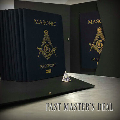 Masonic Passport Past Master's Deal by 33Travellers