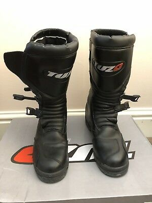 Motorcycle boots Tuzo SK9t Waterproof Adventure / Trail Boots  Euro 42 UK8