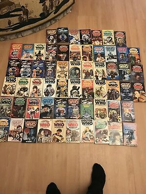 60 Dr Who target books for sale - low starting price - sold as set