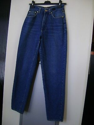 Authentic Versace Blue Jeans-Stretchy Top Set (1990s)