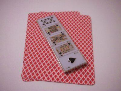 Royal Flush Double Sided Lucky Poker Card Guard Hand Protector NEW