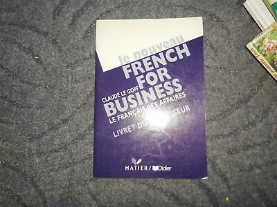 le noveau french for business