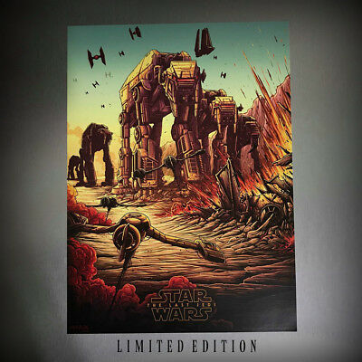 Star Wars The Last Jedi Movie Poster by IMAX at MAC #2 of 4 Limited Edition