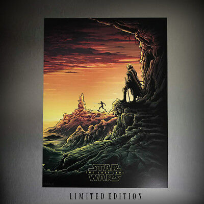 Star Wars The Last Jedi Movie Poster by IMAX at MAC #1 of 4 Limited Edition