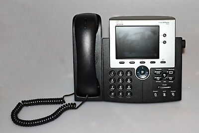 CISCO IP Phone CP-7945G VOIP UC Telefon Büro Schnur gebunden OFFICE
