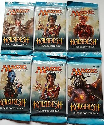 MTG kaladesh sealed set of 6 booster packs.