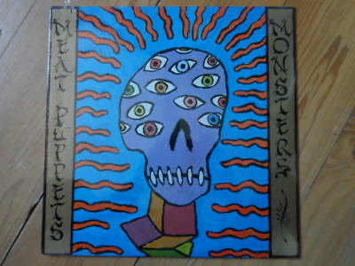 Meat Puppets-Monsters-Still Sealed Lp-1989-US Pressung-SST Records