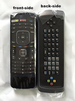 New VIZIO Replacement Keyboard XRT301 3D Internet Apps HDTV Remote Control Vudu