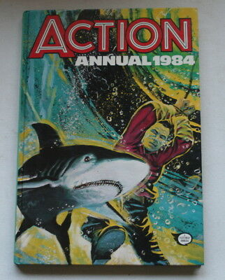 Action War Military Boys Mens 1984 Annual Unclipped Exc Cond Ipc Uk First Press