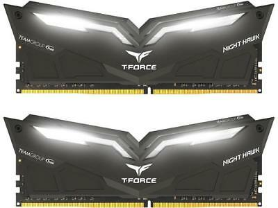 Team T-Force Night Hawk 16GB 2x8G DDR4 3200MHz Memory RAM THWD416G3200HC16CDC01