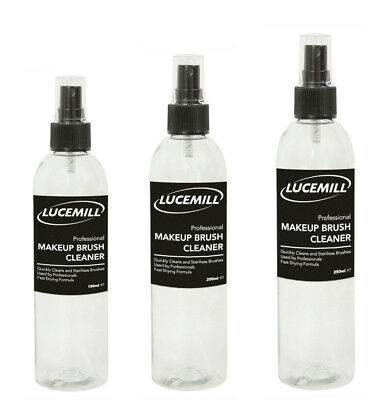 Lucemill Makeup Brush Quick Dry Cleaner Cleanser Sterilize Remover Solution