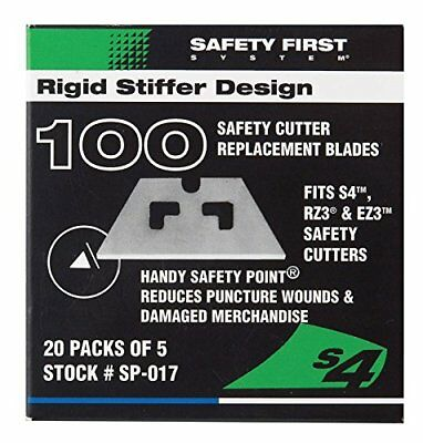 New Pacific Handy Cutter Safety Point Replacement Blades S4, S3, Rz3, Ez3
