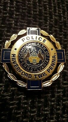 US police badge/Polizeimarke
