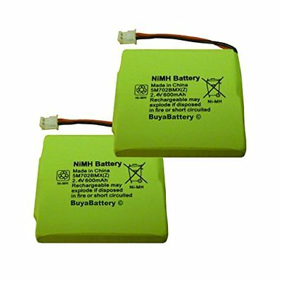 2 x New BuyaBattery Branded Replacement Batteries for BT Verve 450 and 410 ...