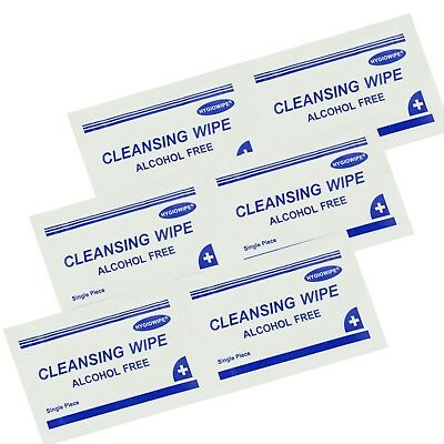 Alcohol Free Wound Cleansing Wipes