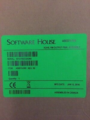 BRAND NEW SWH AS0074-000 R8 Relay output module Software house TYCO