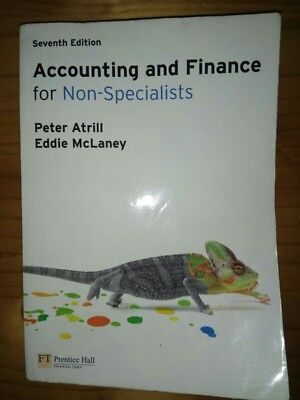 Accounting And Finance For Non-Specialists 7th edition