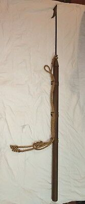"""Antique 84"""" Long Spear Vintage Sailing Maritime Whaling Harpoon"""