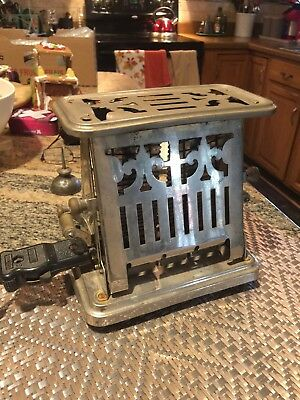 ANTIQUE FARRY & Clark  Working GR8 Universal E96412  Double Sided Toaster