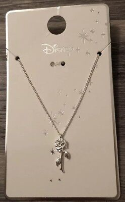 BNWT DISNEY Beauty And The Beast Rose Necklace - Primark