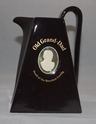 Old Grand-Dad Liquor Bar Water Pitcher