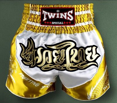 Twins Special Tbs - 4 Dragon Muay Thai/Boxing Shorts Size XL