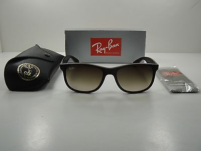 d5ccd66adf ... shopping ray ban andy sunglasses rb4202 607313 brown frame brown  gradient lens 55mm f5a2d 29d7f