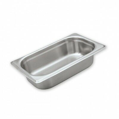 6pcs X Gastronorm Chafing Dish Pans Lids 1/4 SIZE S/STEEL Commercial