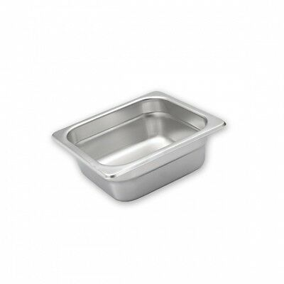 6pcs X Gastronorm Chafing Dish Pans Lids 1/6 SIZE S/STEEL Commercial