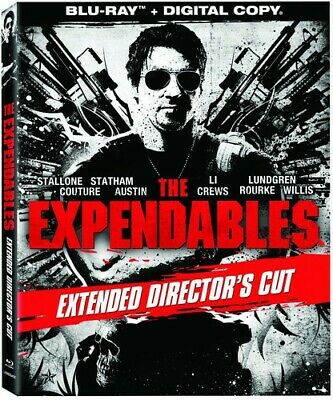 The Expendables (Blu-ray Disc, 2011, Extended Directors Cut Includes Digital Cop