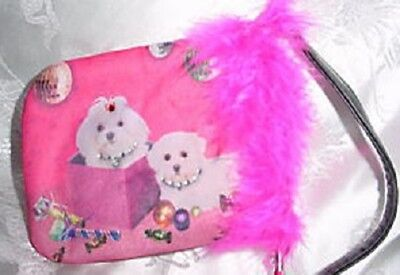 Maltese ID/Credit Card~ Cell Phone ~Treat Holder