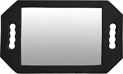 Dmi Foam Two Handed Mirror Black Perfect For Hairdressers/barbers Use