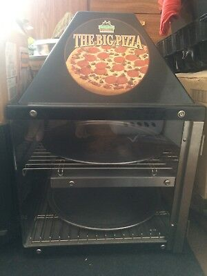 Commercial Countertop 2 Door Pizza Warmer Display Case