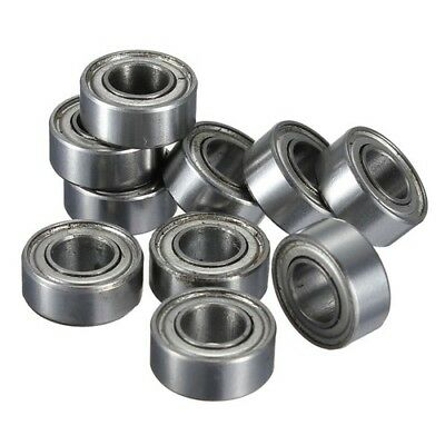 10Pcs Bearing Ball Metal Sealed Miniature Mini MR105 MR105ZZ Deep Groove Tool