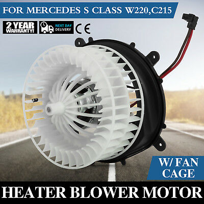 AC HEATER BLOWER Motor For Mercedes-Benz S350 S430 S500 S600 S55